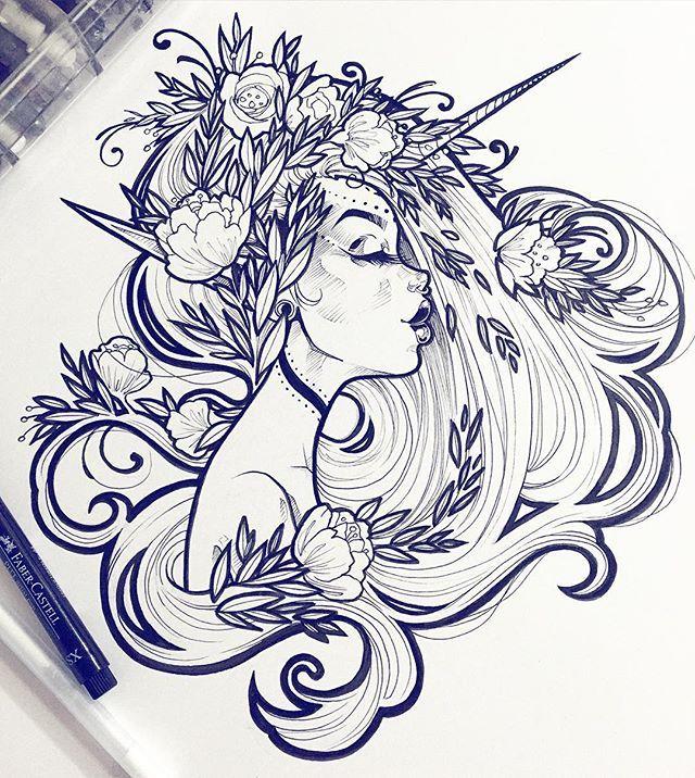Calling this lass done. This drawing is small enough for me to scan so you can expect prints of her soon ✨ #graphicartery #artshare #artwork #myart #sketch #draw #artsy #arte #art #instaart #artnerd2016 #artist #illustration #artistsoninstagram #artcollective2016 #artfido #im_gallery #art_spotlight #art_motive #worldofpencils #juxtapoz #worldofartists #spotlightonartists #instartspics #tattoos #ink