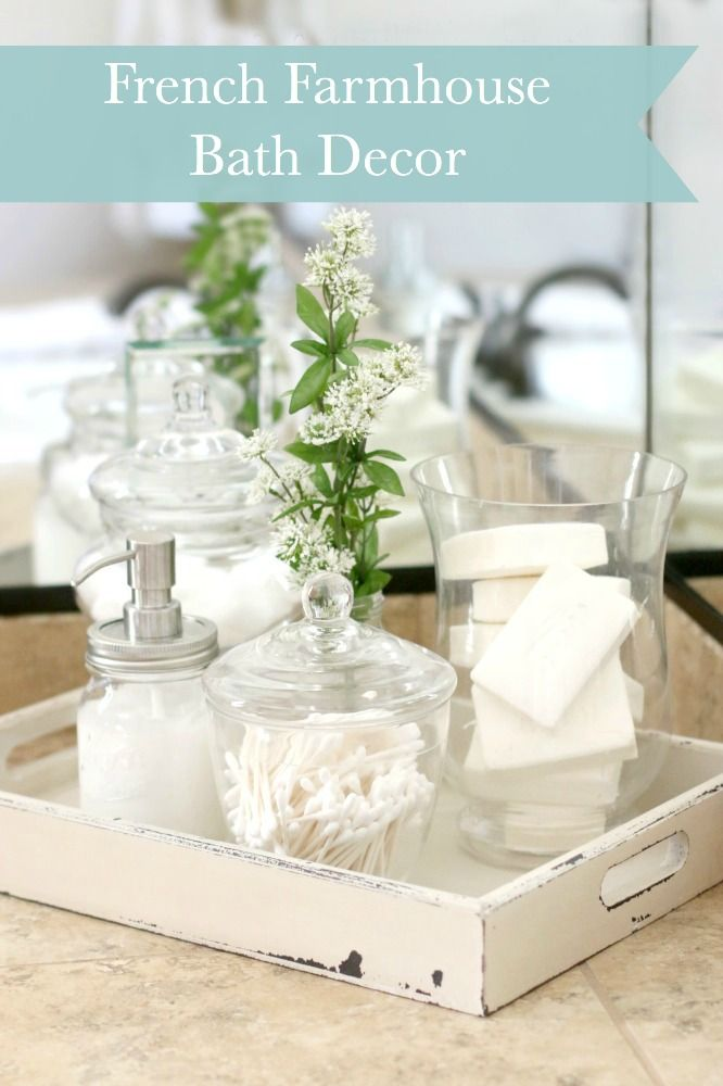 44 best images about decor ideas on pinterest for French farmhouse bathroom ideas