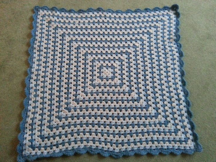 Baby Knitting Free Patterns : Granny Square lap blanket. Vanna White pattern and yarn. Knit and Crochet ...
