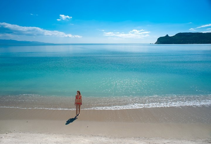 This is Poetto, the nearest beach from me, Cagliari, Sardinia