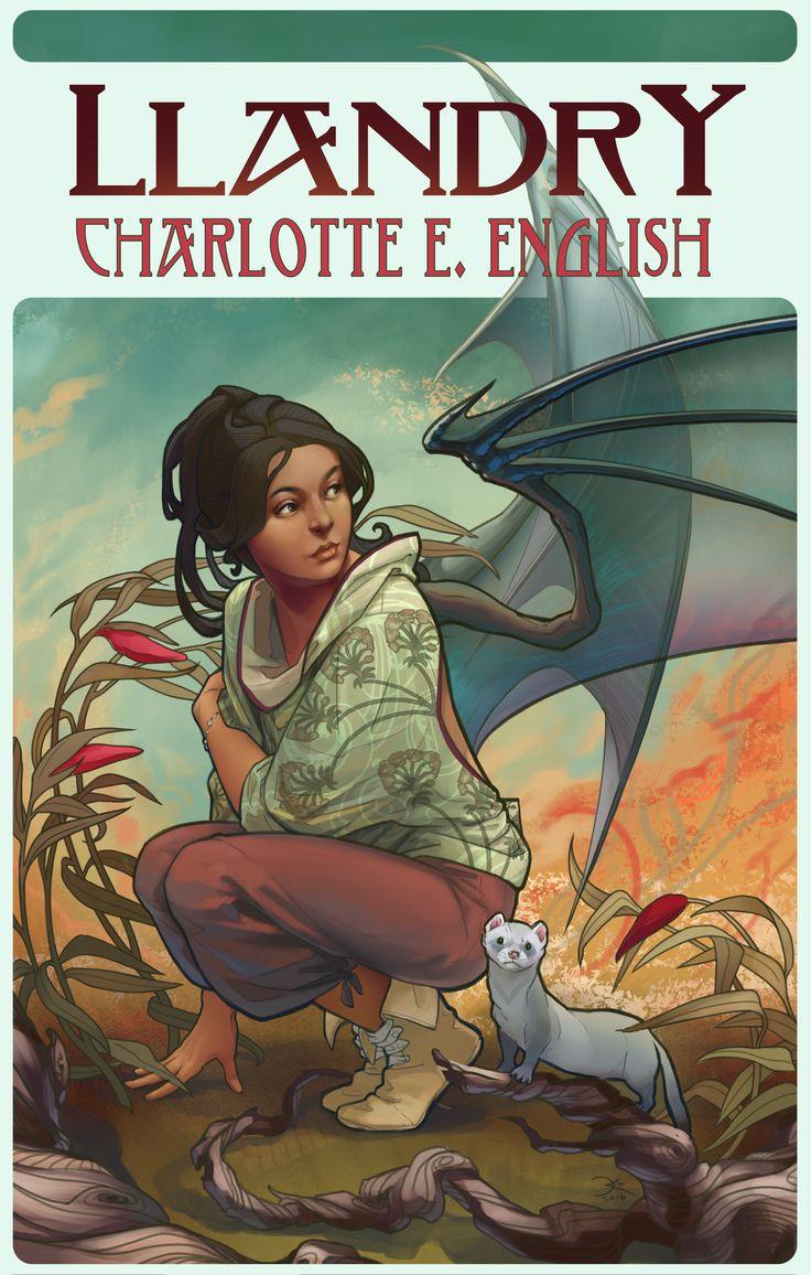 Book cover for Llandry (Draykon Series 4), by Elsa Kroese.