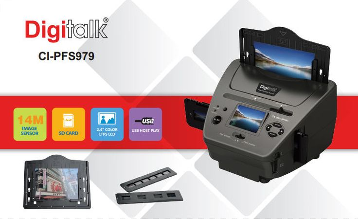 4in1 combo photonegativeslidebusiness card scanner
