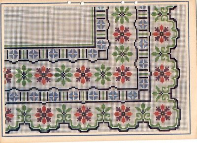 Gallery.ru / Фото #1 - kenthma - ergoxeiro... Lots of cross stitch charts and some crochet edging diagrams!