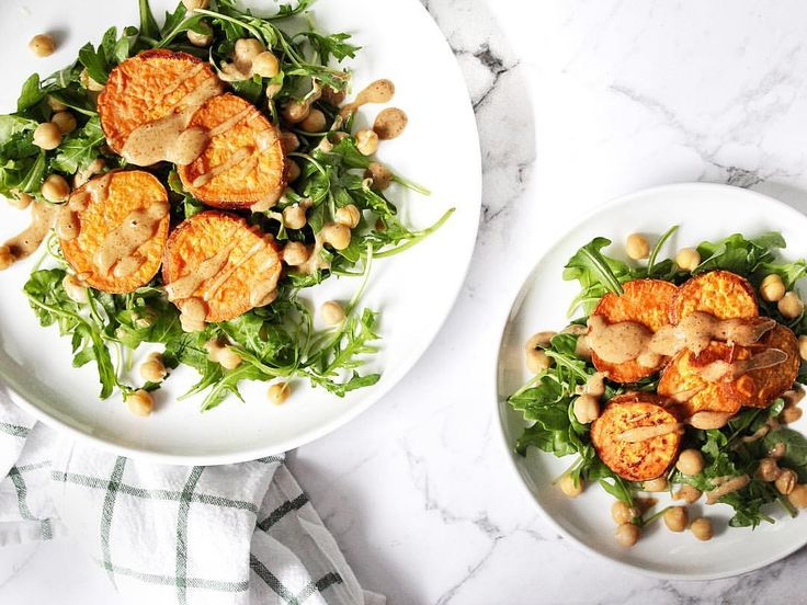 SWEET POTATO SALAD WITH ALMOND BUTTER DRESSING   Vegan/Soy Free/Gluten Free