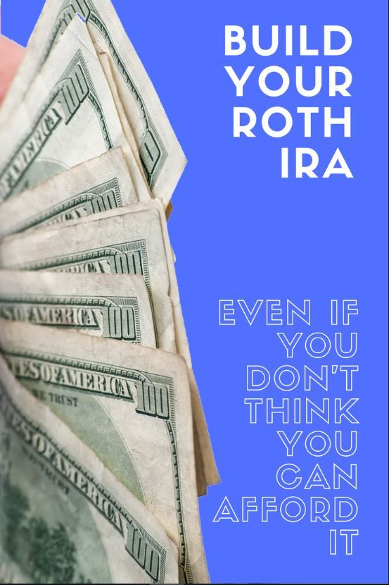 You may be wondering if you can afford to max out your Roth IRA this year. The real question is: Can you afford NOT to? https://www.fivecentnickel.com/contribute-to-your-roth-ira-even-if-it-stretches-your-budget/
