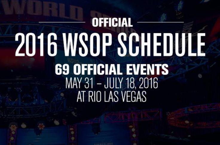 На официальном сайте World Series of Poker опубликовали конечное расписание турнирной серии на этот год. О главных изменениях в серии и новинках дальше в материале.