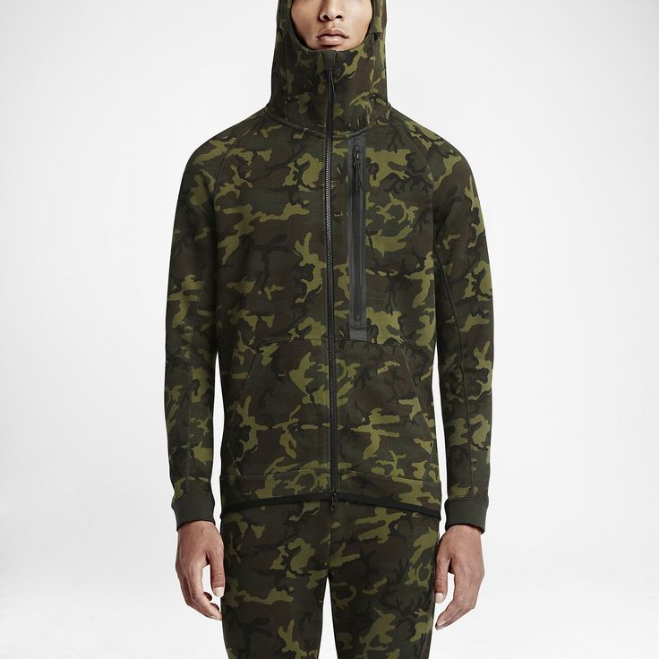 nike tech fleece camo full zip survival of the fittest. Black Bedroom Furniture Sets. Home Design Ideas