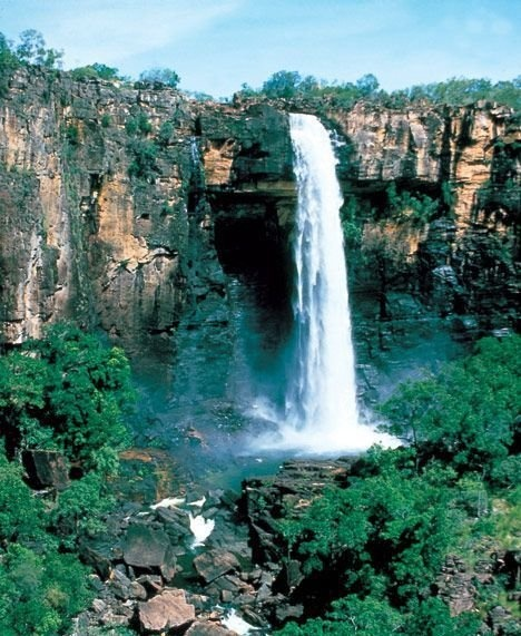 Jim Jim Falls - Australia #kakaduforyou