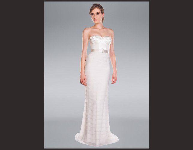 Robe de mariée droite Amanda Wakeley 2014
