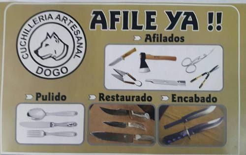 Afilado De Cuchillos,tijeras Y Todo Tipo De Herramientas - $ 80,00