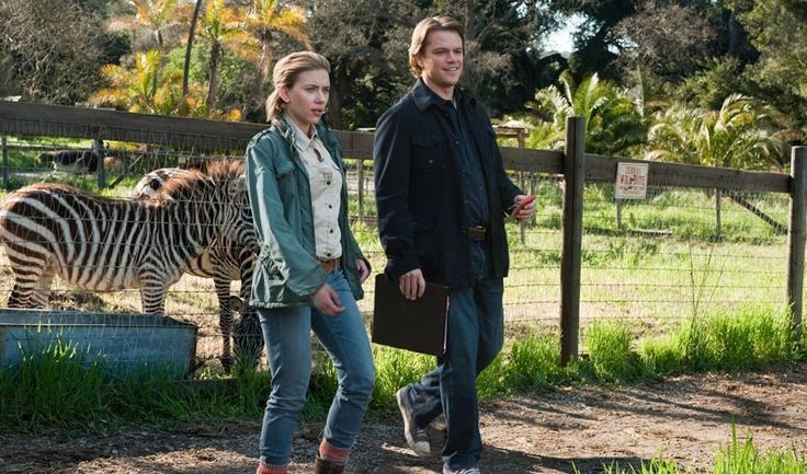 Matt Damon Y scarlett Johanson quisieron conocer a las cebras de Zoo KeteGrande