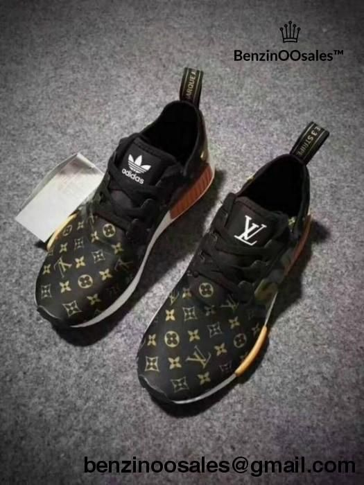 Supreme X Lv X Adidas Nmds Monogram Brown Fashion Creates