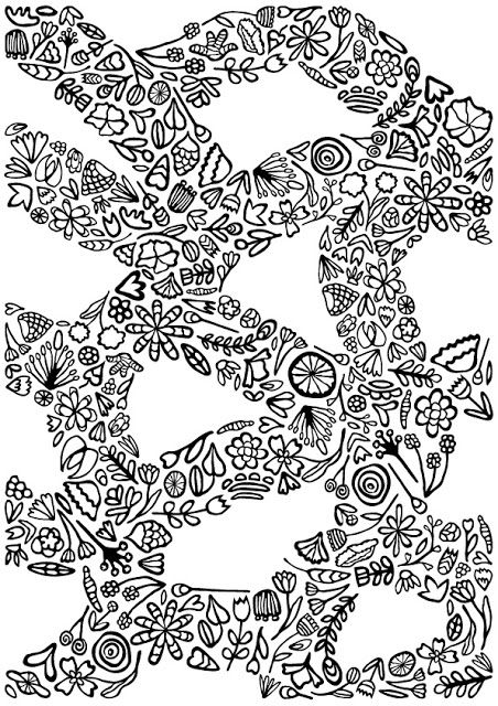 Free coloring page dowland for you #coloringpage #flowers #vector #pattern