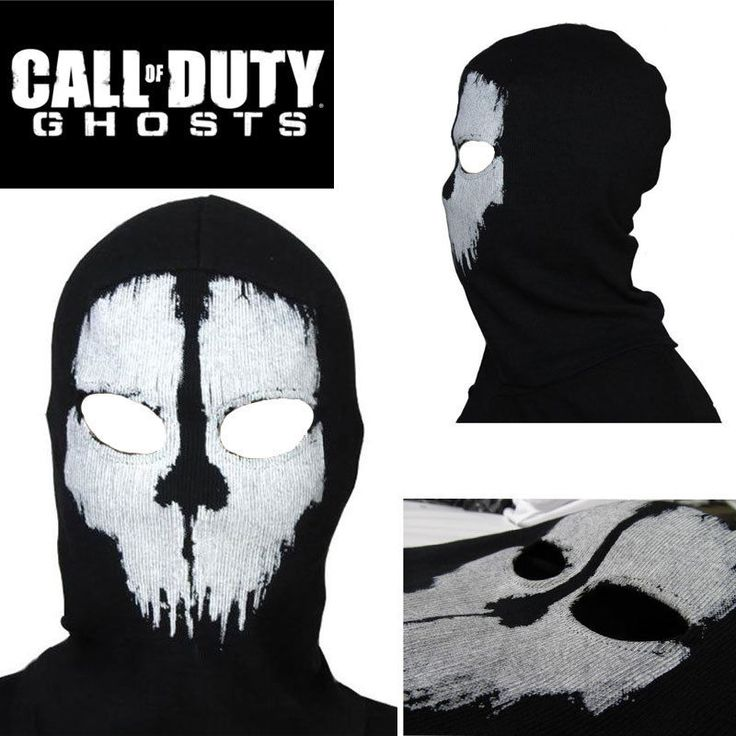 Call of Duty 10 COD Balaclava Ghost Skull Face Mask XBOX One 360 - Ships from US #Theater #Costume #Drama