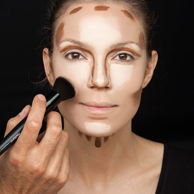 A true beauty maniac should master the art of contouring for a sexy and radiant complexion. #radiantprofessional #contouring #makeup #makeuptips #beautytrends