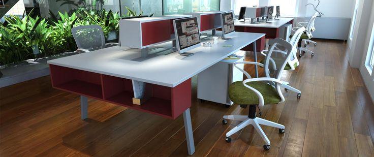S75 WorkStation - Mirá nuestro catálogo completo en www.smart-office.com.ar #oficinas #diseñointerior  #arquitectura #ergonomia