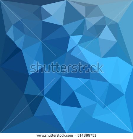 Low polygon style illustration of a cornflower blue abstract geometric background. #abstractbackground #lowpolygon #illustration