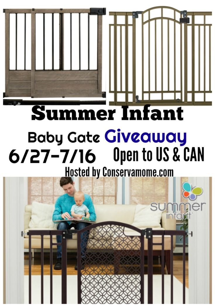 Need a baby gate? Enter to win a choice of In-Stock gate from Summer Infant.com here!