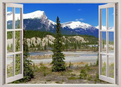 Fototapet 3D Vedere montana