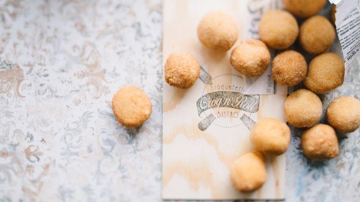 V bistru Croq´n´roll vyrábějí krokety ručně a z brambor od českých farmářů.