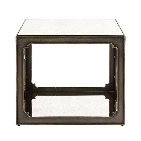 Mirabelle Mirrored Bunching Table