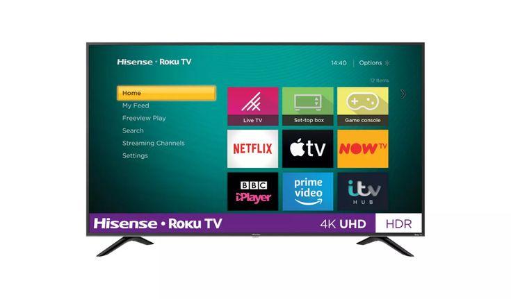 Buy hisense roku tv 43 inch r43b7120uk 4k smart led tv