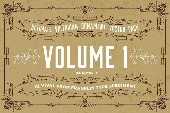The Ultimate Victorian Ornament by tommynr on @creativemarket