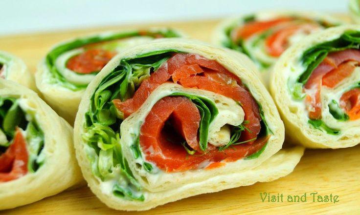 Visit & Taste: Mini-wrap snacks