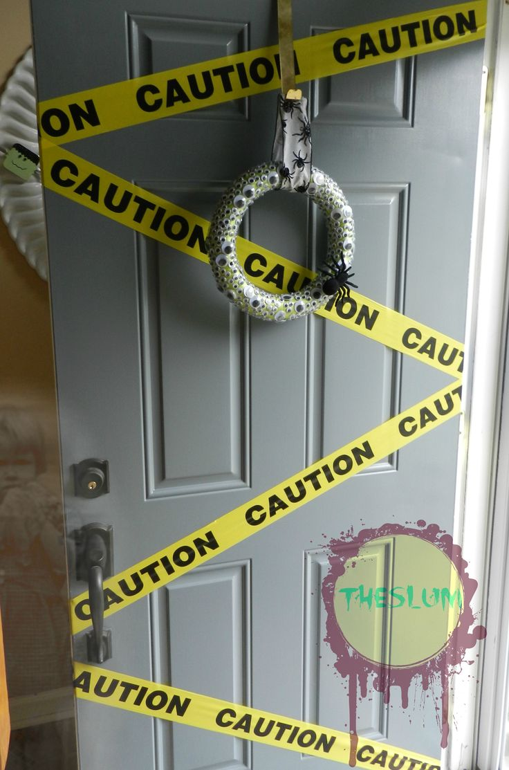 Halloween Decorations Front Door