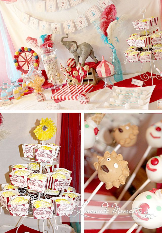 Vintage Circus Party - LemonadeMoments.cm