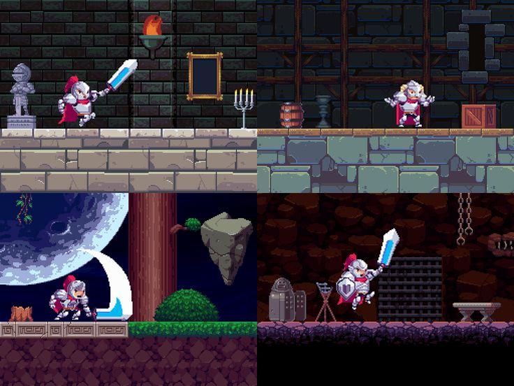 glauber kotaki u2014 Rogue Legacy by Cellar Door Games & 25+ unique Rogue legacy ideas on Pinterest | Pixel characters ... pezcame.com