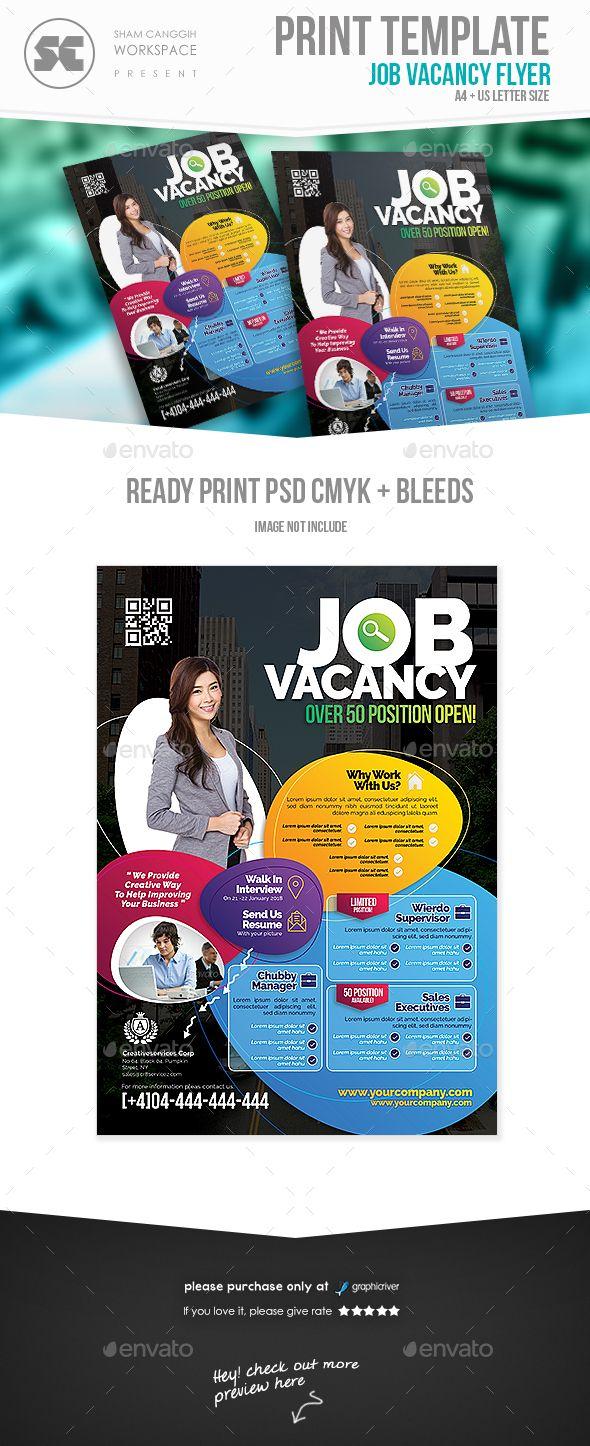 best images about psd jobs career flyer job vacancy fair flyer
