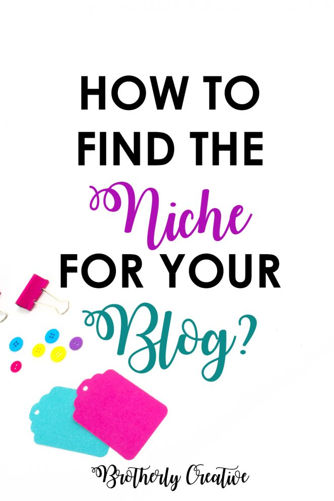 how to find the perfect niche