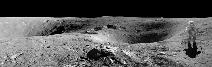 Stunning Moon landscape from Apollo 16 mission