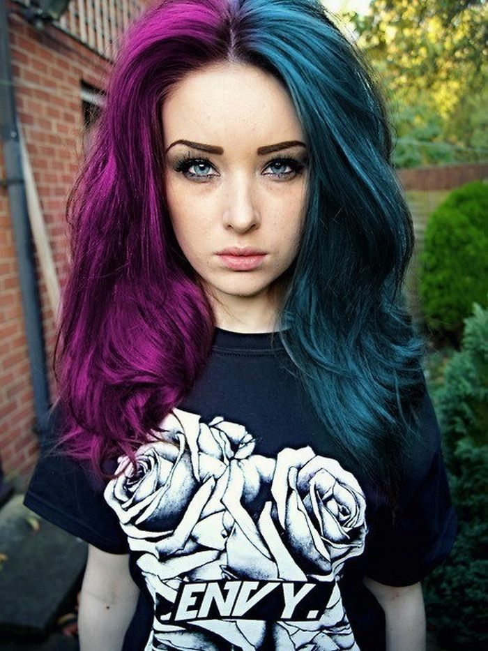 different colour hair styles 24 best green hair images on 6393