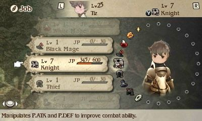 Bravely Default Menu Images - The Final Fantasy Wiki has more Final Fantasy information than Cid could research