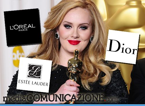 Adele è la testimonial più corteggiata. La vogliono Estee Lauder, l'Oreal e Dior | mediaComunicazione