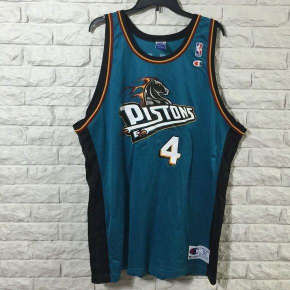 Vintage Detroit Pistons Joe Dumars Jersey  GREAT CONDITION!! Vintage Detroit Pistons Joe Dumars jersey. Men's size 53, equivalent to a men's XXL. Brand is Champion. Champion Tops