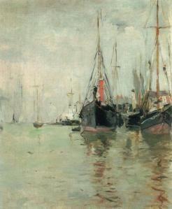 Berthe Morisot, De Haven, 1875, www.artedelledonne.wordpress.com