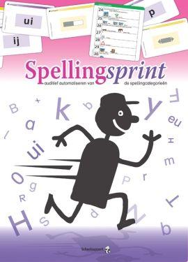 Uitgeverij Schoolsupport - Basisonderwijs - lesmateriaal en leermiddelen - Spellingsprint