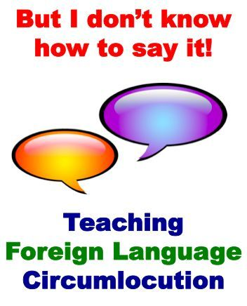 Teaching Foreign Language Circumlocution