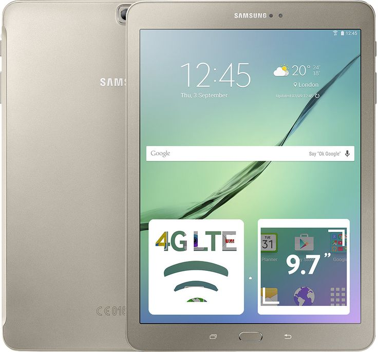 Планшет Samsung Tab S2 9.7 32GB Gold