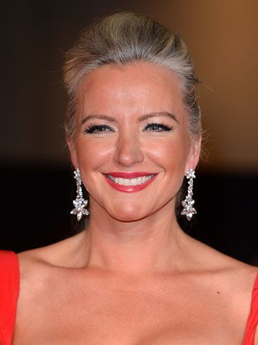 """Michelle Mone: At the Scottish entrepreneur (she's founder of international lingerie brand, Ultimo) and former model took the plunge and unveiled her changing roots at an award show in Grey Hair Styles For Women, Short Hair Styles Easy, Short Hair Updo, Drop Dead Gorgeous, Grey Hair Celebrities, Silver Grey Hair, Gray Hair, Silver Haired Beauties, Dying My Hair"