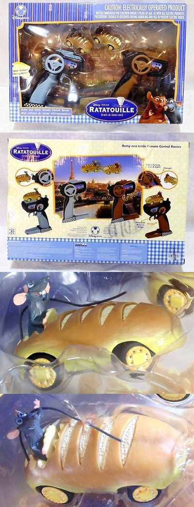 Ratatouille 158767: Disney Store Pixar Ratatouille Remy And Emile Remote Control Racers Mint! -> BUY IT NOW ONLY: $49.5 on eBay!