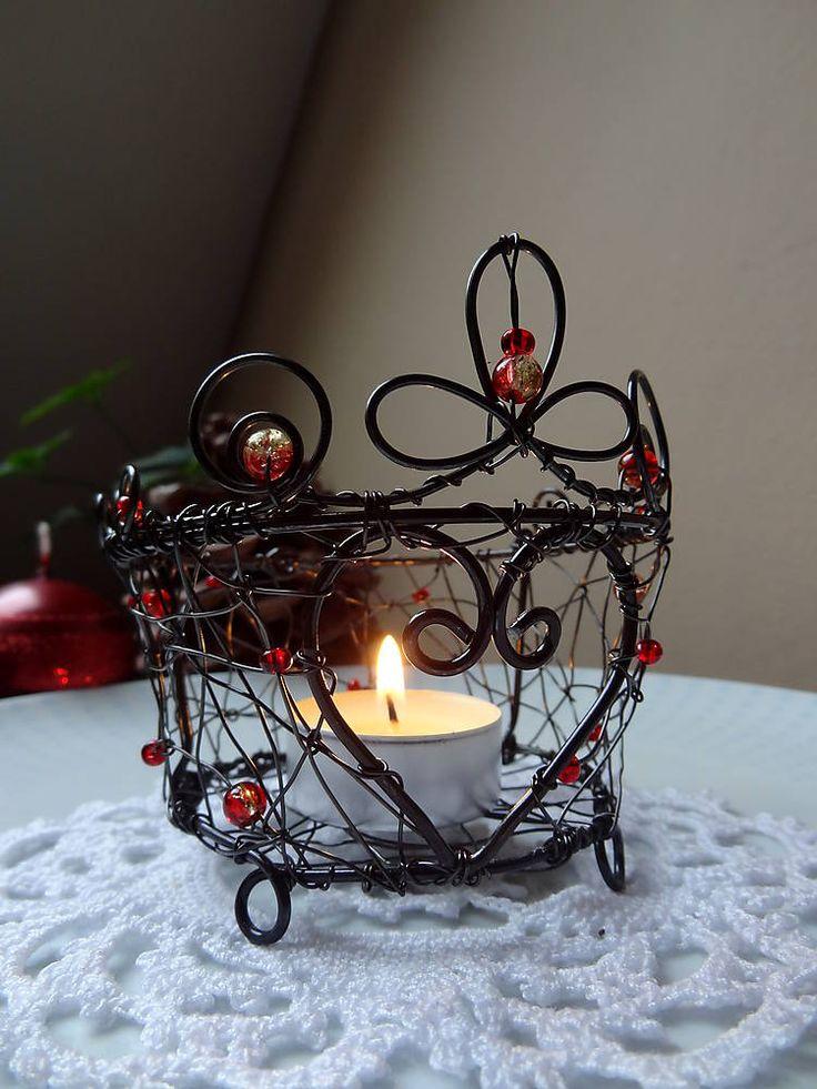 Svietidlá a sviečky - ....srdce domova - 4872678_