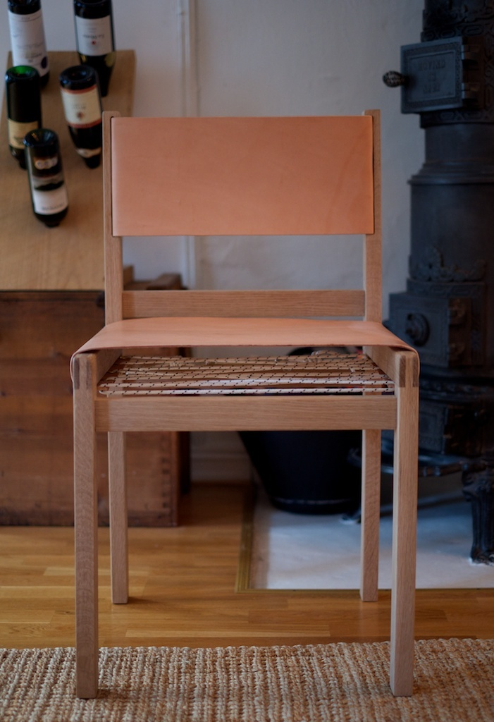 Leather Oak chair | NH oslo