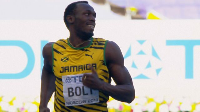 Usain Bolt and Adam Gemili ease into 200m semi-finals  The 26-year-old Jamaican, who took the 100m title on Sunday, comfortably won his heat in 20.66 seconds with Briton Delano Williams, 19, second (20.72).  Adam Gemili recorded the fifth quickest time by a Briton in winning his heat in a personal best of 20.17, while James Ellington (20.55) also qualified.