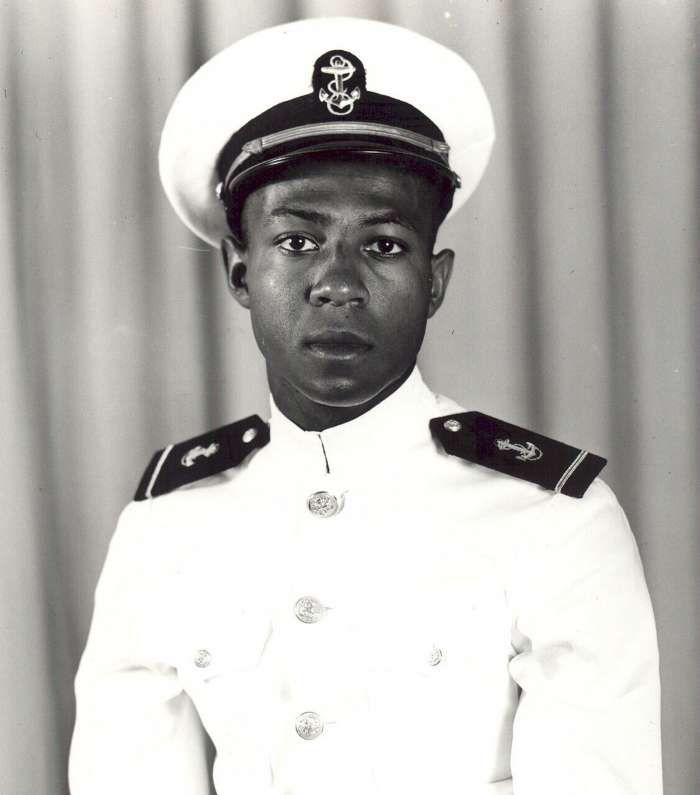 Jesse LeRoy Brown (13 October 1926 – 4 December 1950) was a United States Navy officer. He was the first African-American aviator in the U.S. Navy, a recipient of the Distinguished Flying Cross, and the first African-American naval officer killed in the Korean War.