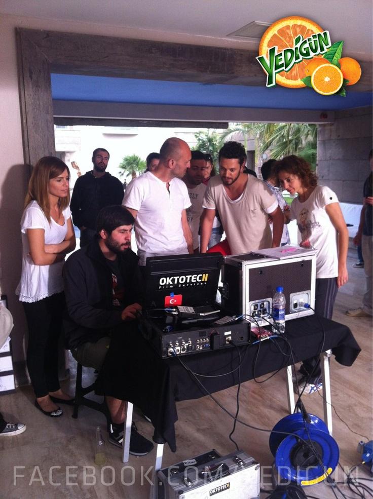 Yedigün Antalya Güneşi Kan Portakalı Reklam Filmi Çekiminin Backstage Fotoğrafları! Daha fazlası için facebook.com/yedigun