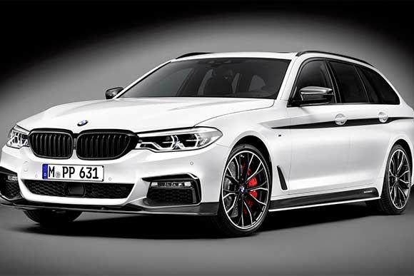 BMW Série 5 Touring ganha preparação e chega aos 360 cv